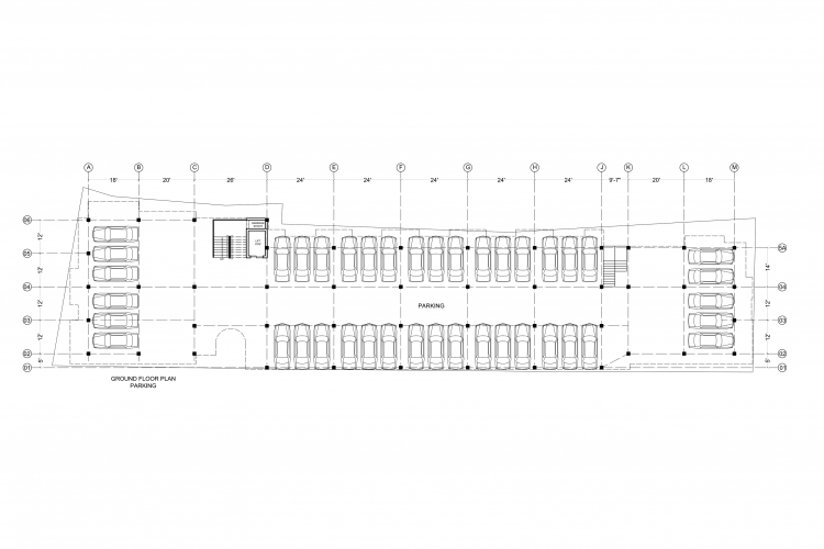 Block N GROUND FLOOR PLAN-1